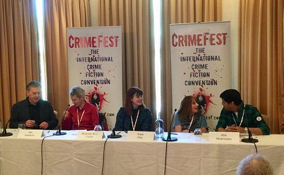 CrimeFest18. Alis Hawkins