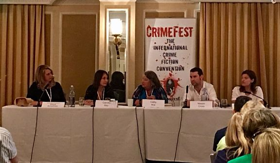 CrimeFest18 Cathy Ace