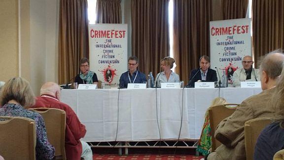 CrimeFest18 Kat Hall